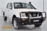 2006  Nissan Navara ST-X D40 Utility