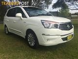 2014  SSANGYONG STAVIC SPR A100 MY13 4D WAGON