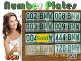 BMW license plates - ON SALE NOW