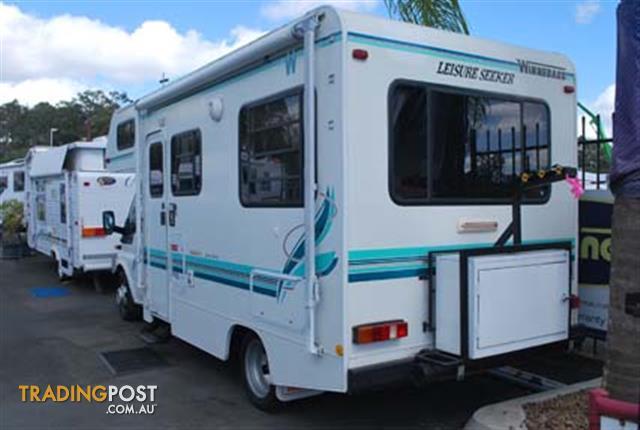 Simple  Sale In Mackay QLD  Hino Motor Home 7 Mtr 23 Ft 6 Cyl Diesel