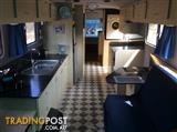 Fully self contained motorhome