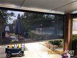 2 x Outdoor Blinds with UV Protection