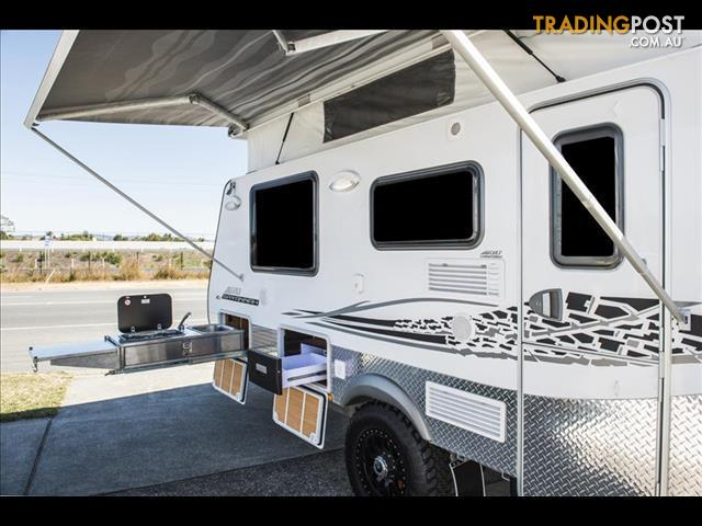 Popular 2010 Vanguard Adventure Barcoo Semi Off Road Caravan For Sale QLD