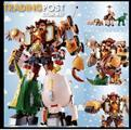 Chogokin Chogattai Woody Robo Sheriff Star from Toy Story Bandai Japan