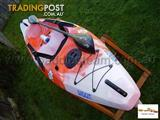 Kayaks Canoes Dinghy's Surf Skis Sit-on-Tops