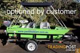 3m / 10ft Catamaran Hull Spindrift Dinghy - WITH WHEELS