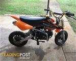 Assissin 110cc pit bike