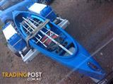 16ft Mad River Adventure 16t Canoe & Trailer