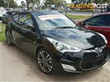 2015 Hyundai Veloster Coupe D-CT FS4 Series II Hatchback