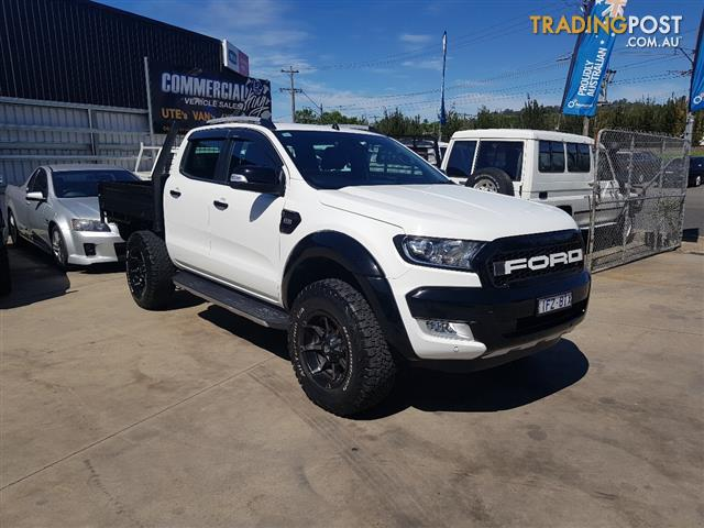 2016 Ford Ranger >> 2016 Ford Ranger Wildtrak 3 2 4x4 Px Mkii My17 Dual Cab P Up