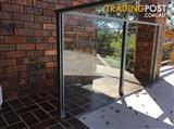 Glass Panel Fencing x 6 Panels