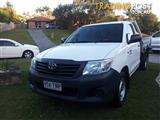 2013 TOYOTA HILUX WORKMATE TGN16R MY12 C/CHAS