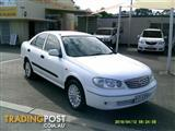 2004 Nissan Pulsar ST-L bank cheque Sedan