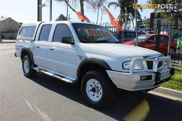 2004 MAZDA B2500 BRAVO DX 4X4 DUAL CAB PUP for sale in Blair Athol ...