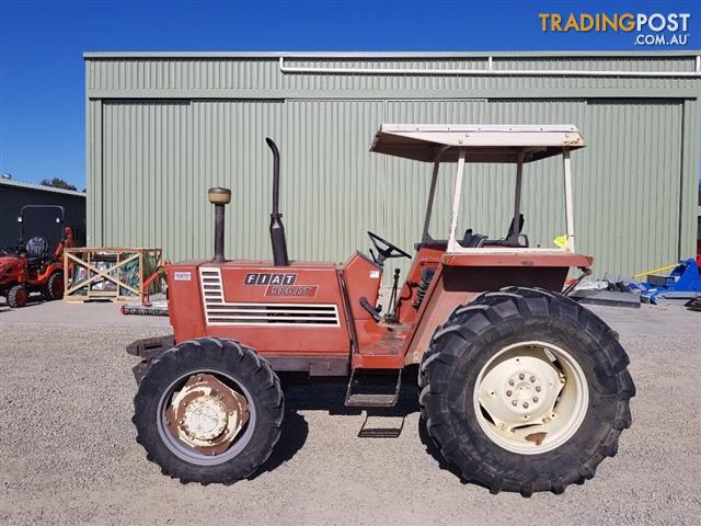 Fiat-580DT-Tractor-FWA-4WD-Approx-8000-hours-3-Cylinder-58HP
