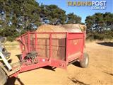 Robertson Comby Bale Wagon/Feedout Hay/Forage Equip