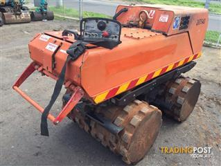 Dynapac LP8500 sheepfoot trenching roller