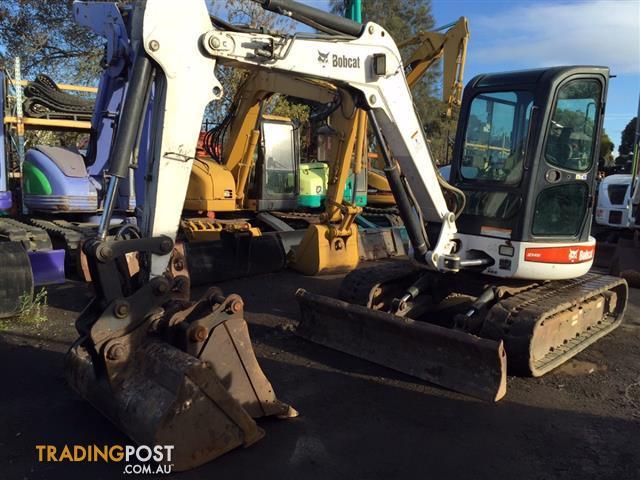 BOBCAT 435 G excavator