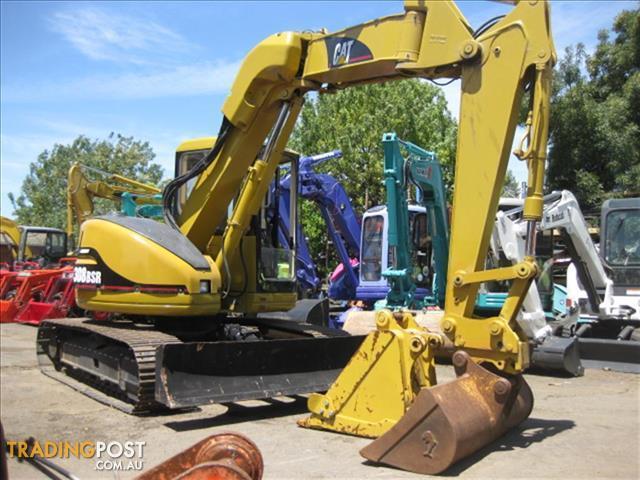 Caterpillar-308B-SR-excavator