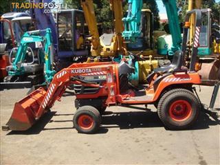 Kubota BX1800 tractor