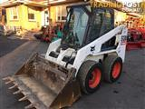 Bobcat S130 skid steer loader with A/C cabin