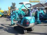 Kobelco SK015 excavator