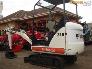 Bobcat 319K excavator