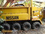 Skid Steer Dumper Tipper Truck - Nissan