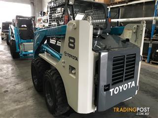 Toyota 4-SDK8 Skid Steer Loader 2695hrs