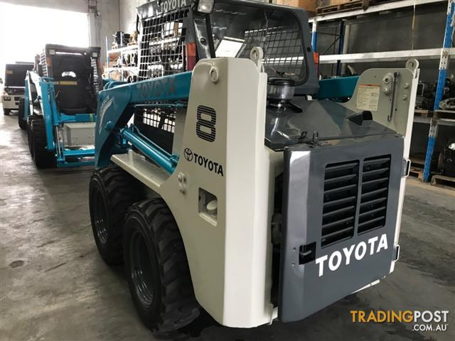 Toyota 4-SDK8 Skid Steer Loader 2695hrs