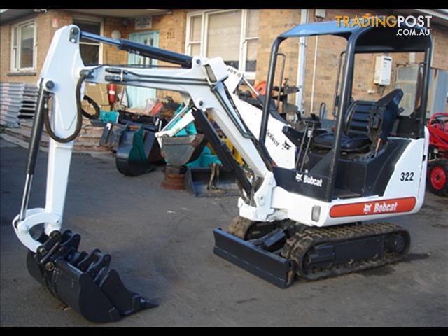 Excavator-Bobcat-322G