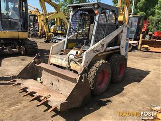 Bobcat 743 skid steer loader