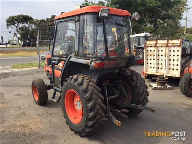 Bumpers For Kubota L4200 : Kubota l d tractor with a c cabin for sale in brooklyn