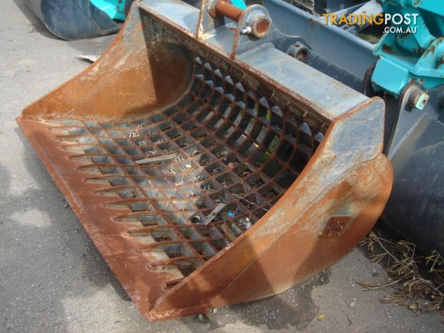 Sieved (skeleton) bucket for 4-6 tonne excavator