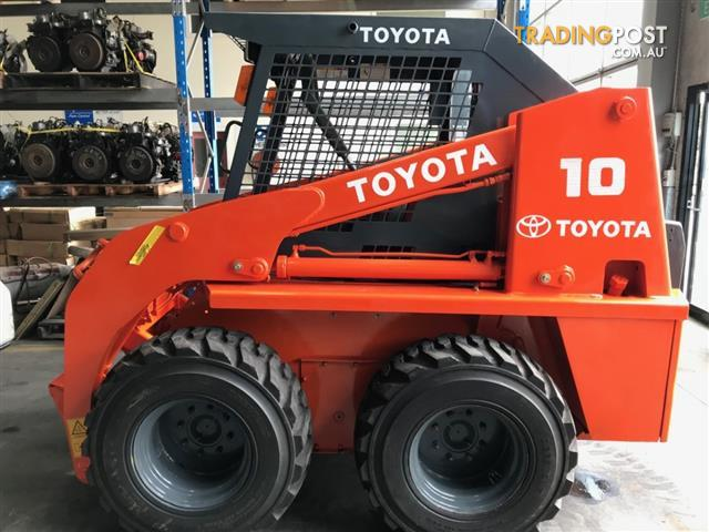 Toyota 3-SDK10 Skid Steer Loader