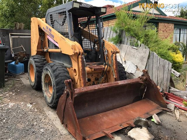 Case 60XT skid steer loader