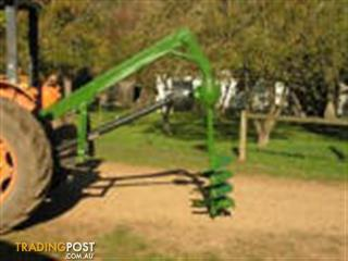 Post hold digger - Tractor attachments