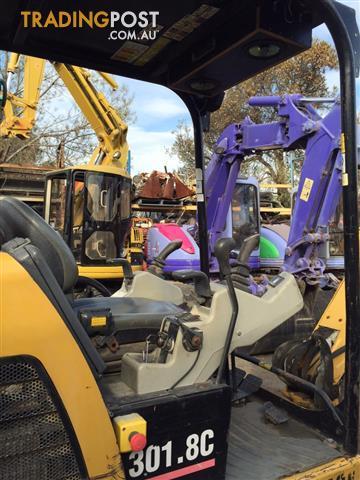 Caterpillar 301.8CR excavator