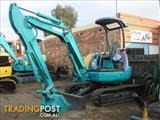 Komatsu PC35MRx Excavator