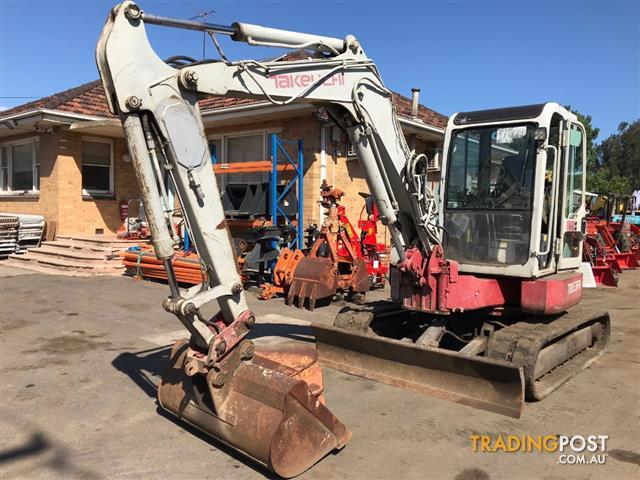 Takeuchi TB53 FR excavator