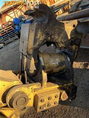 Hydraulics rotate tilt hitch for 10-15 tonne excavator