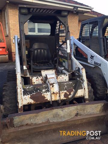Bobcat 751 skid steer loader