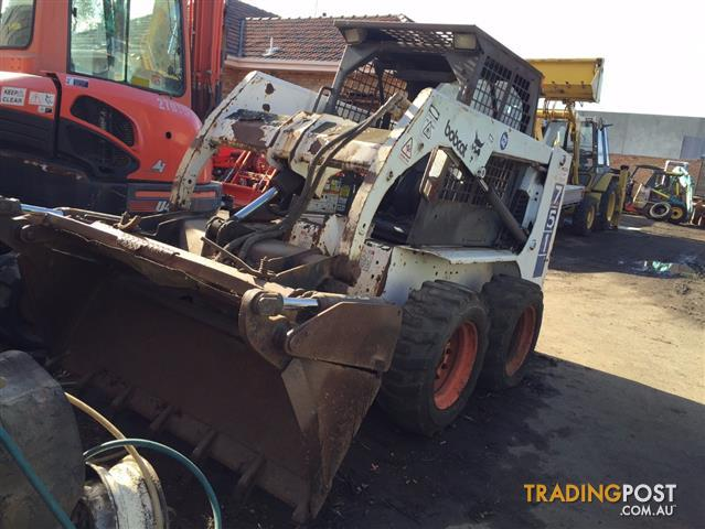 Bobcat 751 skid steer loader