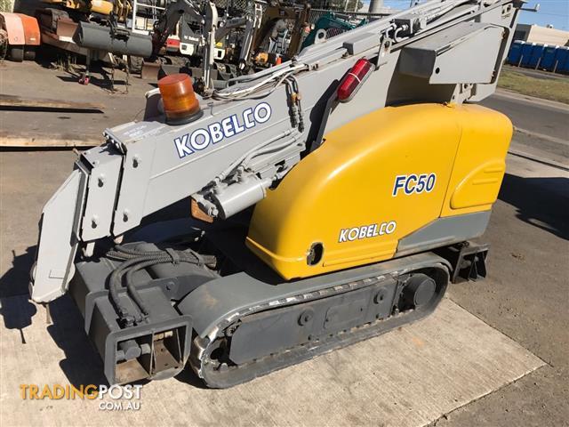 Kobelco FC50 mini crawler crane