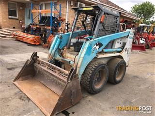 Toyota 4-SDK8 Skid Steer Loader 4868 hours