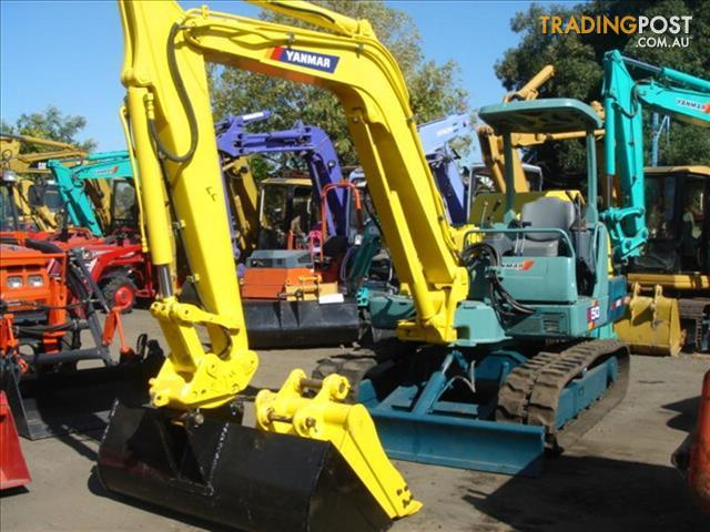 Excavator-Yanmar-B50-2A