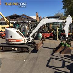 BOBCAT 430 AG excavator 3420 hrs