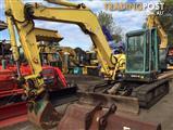 Yanmar ViO-75A excavator