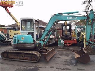 KOBELCO SK45 SR excavator