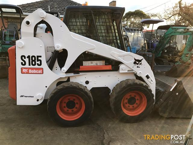 Bobcat-S185-skid-steer-loader-2670-hours